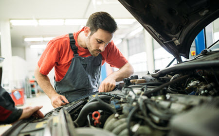 Porsche Engine Inspection