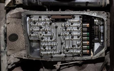 Mercedes Transmission Inspection