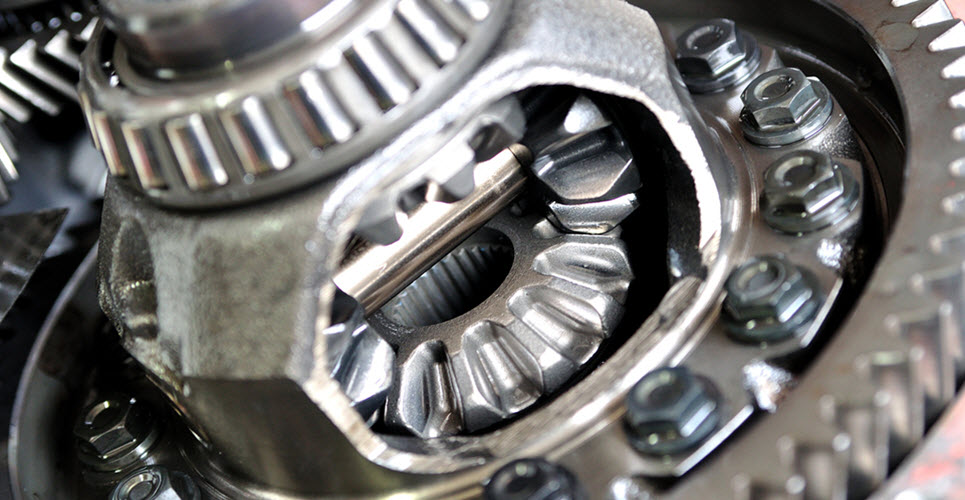 Mercedes Differential