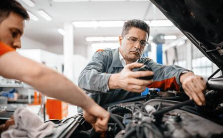 Audi Engine Inspection