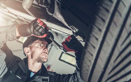 Mercedes Rear Suspension Repair
