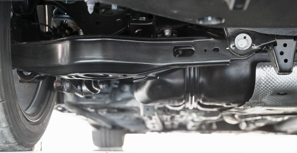 Reasons Behind a Rear Suspension Rattle in a Mercedes from the Experts in Birmingham